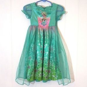 2/$14 Elsa Princess Dress with Cape